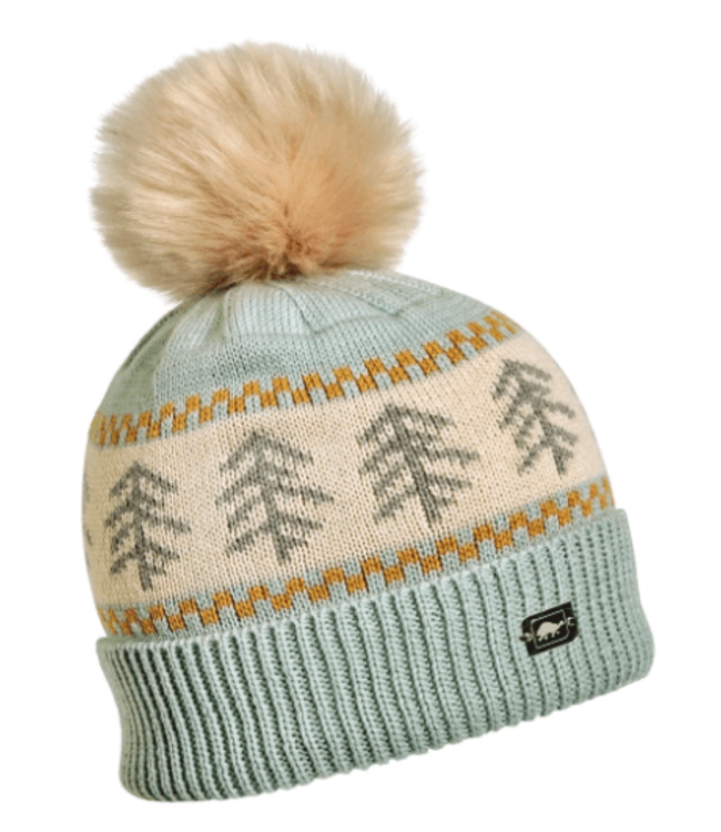 Turtlefur Turtlefur, Castanea Pom Beanie, Mint