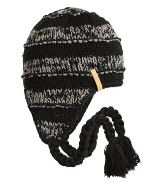 Turtlefur Turtlefur, Jax Lambswool Beanie, Black