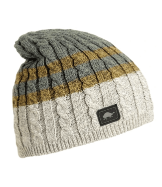 Turtlefur Turtlefur, Slater Ragg Wool Beanie, Natural