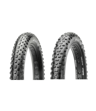 Maxxis Maxxis, Minion FBF/FBR Set, Tire, 26''x4.80, Folding, Tubeless Ready, Dual, EXO, New Takeoff