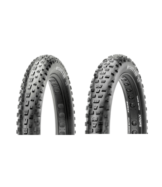 Maxxis Maxxis, Minion FBF/FBR Set, Tire, 26''x4.80, Folding, Tubeless Ready, Dual, EXO, New Takeoff
