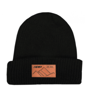 509 509, Black Fire Beanie, Black