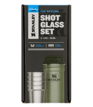 Stanley Stanley, Adventure Nest Shot Glass, Hammertone Green