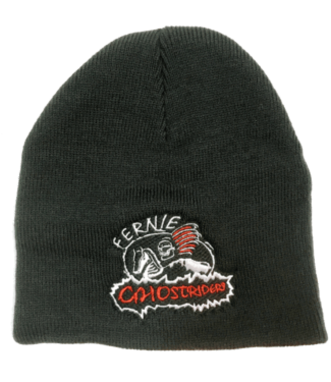 Ghostriders, Embroidered Toque, Black