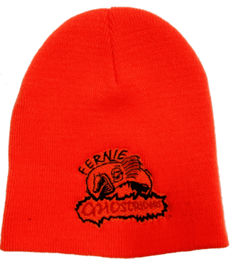 Ghostriders, Embroidered Toque, Orange