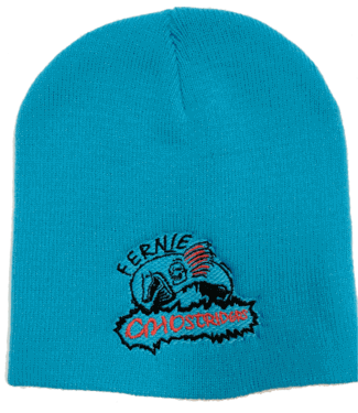 Ghostriders, Embroidered Toque, Blue