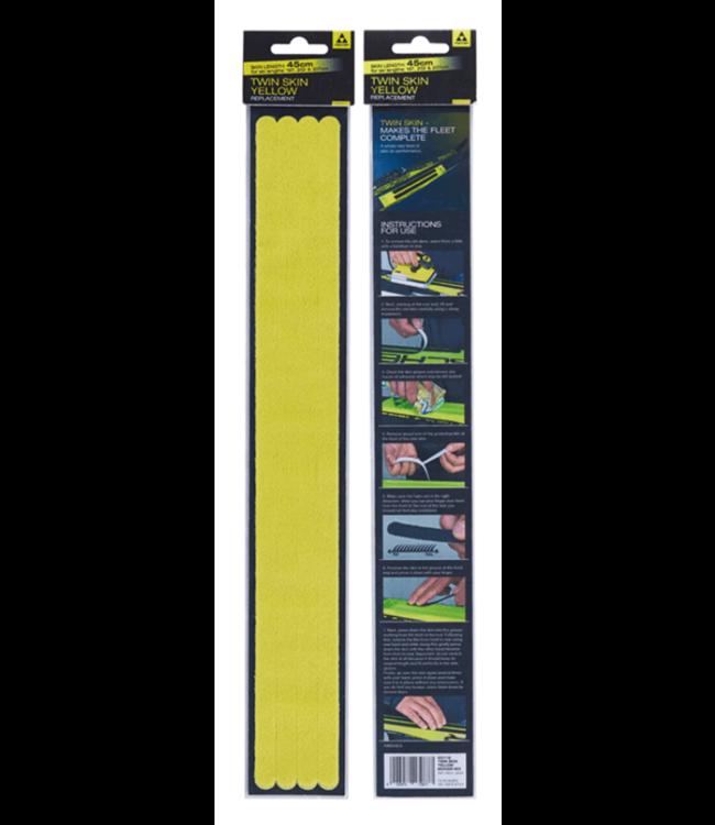 Fischer Fischer, Twin Skin Replacement Strips, Mohair Mix, Yellow