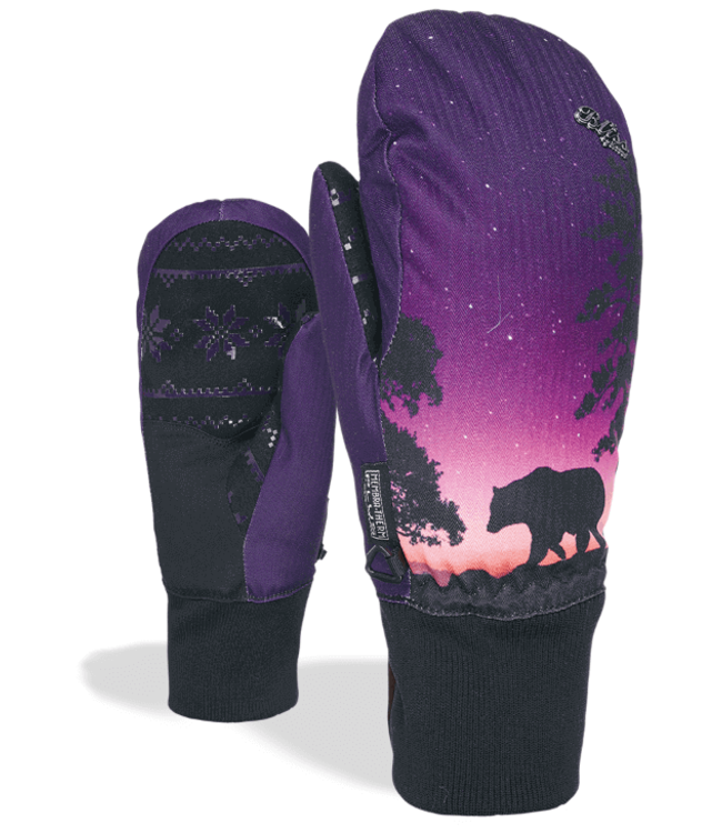 LEVEL Level Glove Bliss Coral Mitt