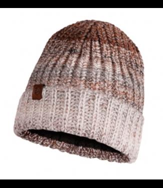 Buff Buff, Knitted & Polar Hat, Olya Brown/Gray