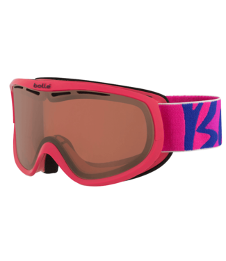 Bolle Bolle, Sierra Goggle, Pink/Blue, Vermillon Lens
