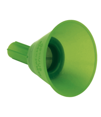 Optimus, Funnel with Gauze, Green