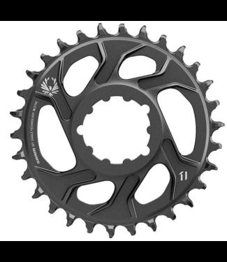 SRAM SRAM, X-SYNC 2 Steel, Chainring, Teeth: 30, Speed: 11/12, BCD: Direct Mount, Single, Steel, Black