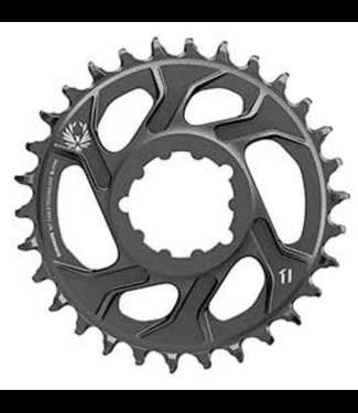 SRAM SRAM, X-SYNC 2 Steel 3mm, Chainring, Teeth: 30, Speed: 11/12, BCD: Direct Mount, Single, Steel, Black