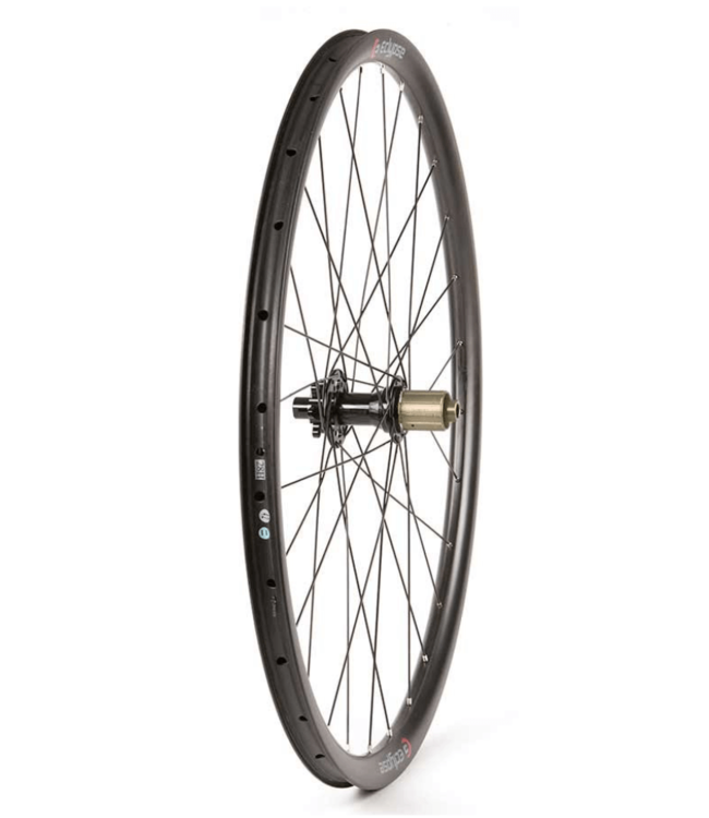 Eclypse Eclypse, S9 DB, Wheel, 29'', 12mm TA, OLD: 142mm, Brake: Disc IS 6-bolt, Rear, Shimano Road 10/ MTB 11, Black