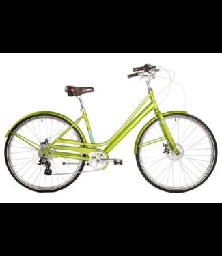 "EVO EVO, Granville Step-Thru City Bicycle, Green, 16.5"" (2017)"