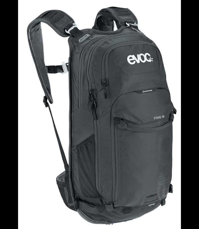 EVOC EVOC, Stage 18, Hydration Bag, Volume: 18L, Bladder included: No, Black