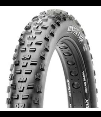 "Maxxis Maxxis , Minion FBR Tire, 26""x4.80, Folding Tubeless Ready, Dual EXO"
