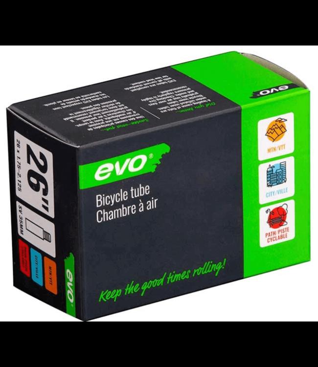 EVO EVO, SV, Tube, Schrader, Length: 48mm, 26'', 1.75-2.125