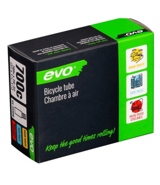 EVO EVO, SV, Tube, Schrader, Length: 48mm, 700C, 28-32C