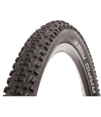 Schwalbe Schwalbe, Rapid Rob, Tire, 27.5x2.25, Wire, Clincher, SBC, K-Guard, 50TPI, Black