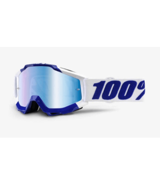 100% 100%, Accuri Goggles Calgary, Mirror Blue Lens