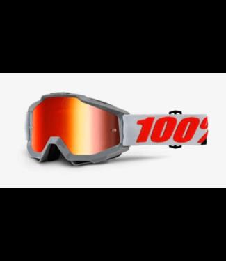 100% 100%, Accuri Goggles Solberg, Mirror Red Lens