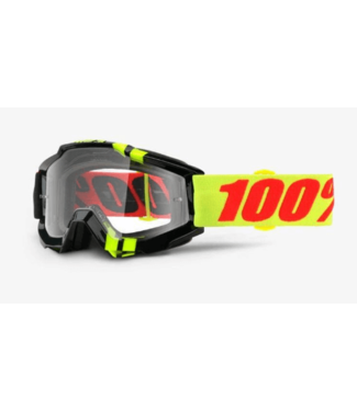 100% 100%, Accuri Goggle Zerbo, Clear Lens
