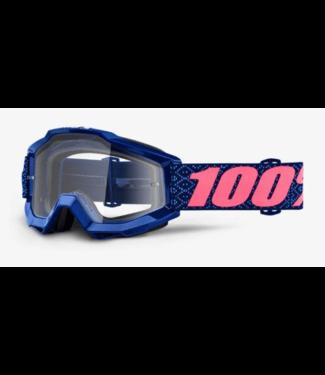 100% 100%, Accuri Goggle Futura, Clear Lens