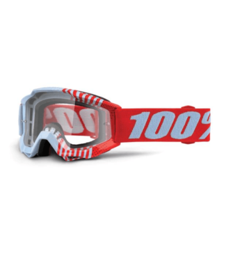 100% 100%, Accuri Youth Goggles Cupcoy, Clear Lens