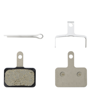 Shimano Shimano, B01S B-Type, Disc Brake Pads, Shape: Shimano B-Type, Resin, Pair, EBPB01SRESINA