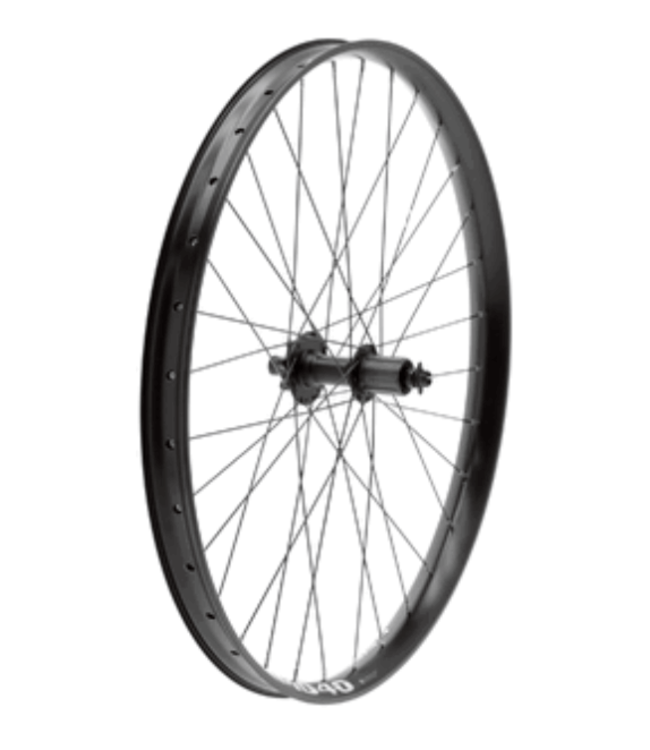49N, Novatec MD40 Mid-Fat Wheel, 32H, Front, Black