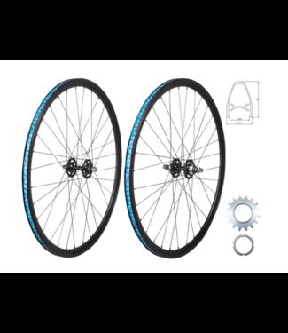 49N, Wheel Front Track 700C, Black