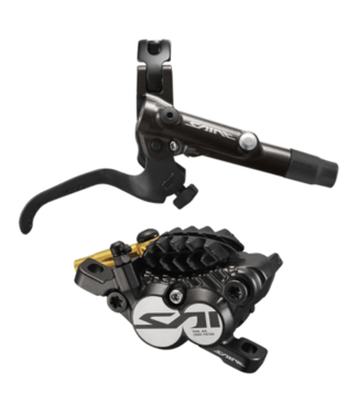 Shimano Shimano, Saint BL/BR-M820, MTB Hydraulic Disc Brake, Rear, Post mount, Disc: Not included, 312g, Black, Kit