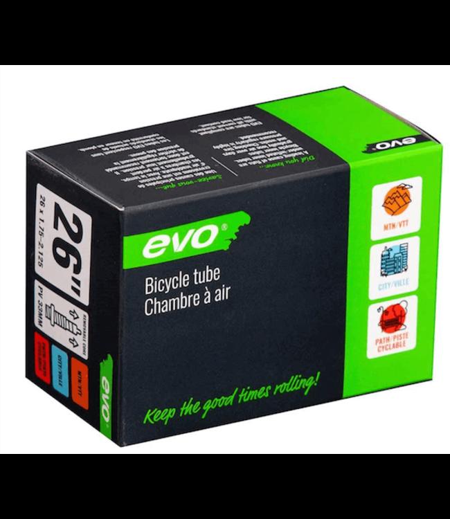 EVO EVO, Presta, Tube, Presta, Length: 33mm, 26'', 1.75-2.125