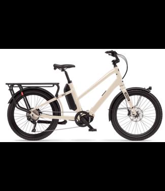 Benno Bikes Benno Bikes, Boost E CX 2020, Step-Through, Bone Grey, Regular