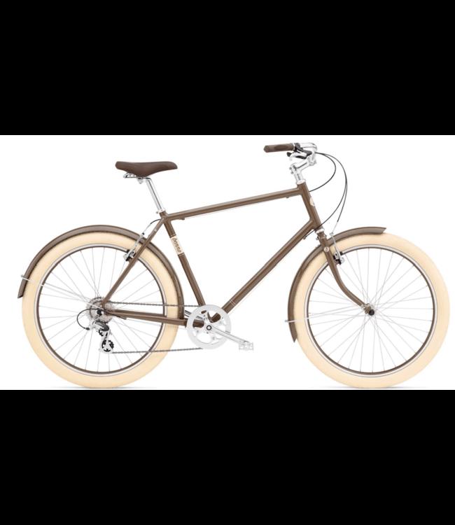 Benno Bikes Benno Bikes, Ballooner 8D Men's, Cacao Brown, 49.5cm M Z*