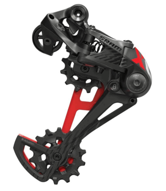 SRAM SRAM, X01 Eagle, Rear Derailleur, 12sp., Type 3.0, Red