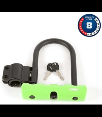 Abus Abus, Ultra Mini, SH34, U-Lock, 12mm x 140mm x 150mm (12mm x 5.5'' x 5.9''), SH34, Green/Black