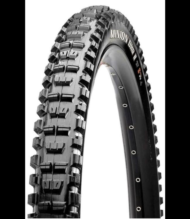 Maxxis Maxxis, Minion DHR2, Tire, 26''x2.40, Wire, Clincher, Super Tacky, 2-ply, 60TPI, Black