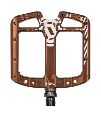 Deity Deity, TMAC, Platform Pedals, Body: Aluminum, Spindle: Cr-Mo, 9/16'', Pair