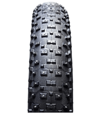 Vee Rubber, Snowshoe XL Studded, Tire, 26''x4.80, Folding, Clincher, Silica, 120TPI, Black