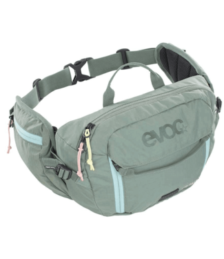 EVOC EVOC, Hip Pack 3L + 1.5L Bladder, Hydration Bag, Volume: 3L, Bladder: Included (1.5L)