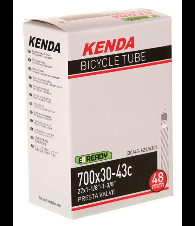 Kenda, Presta-Removable Valve Core, Tube, Presta, Length: 60mm, 700C, 45-50C