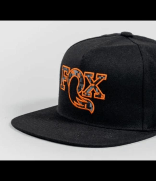 FOX, DigiCam Flat Bill Hat, Black