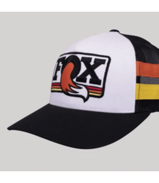 Fox, Heritage Trucker Hat, Black