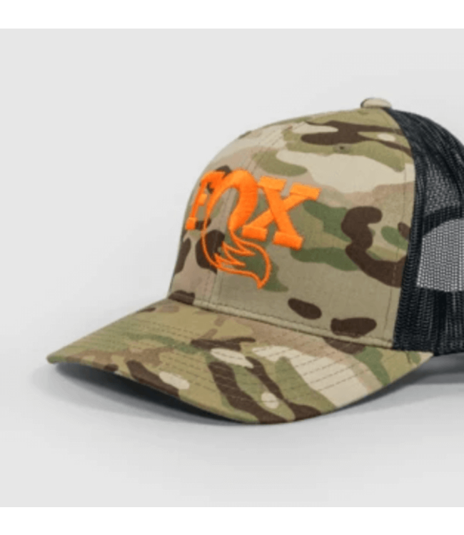 FOX, MultiCam Trucker Snapback, Camo Green