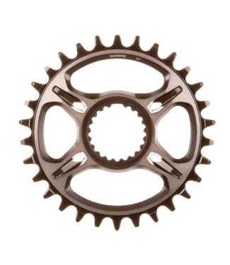 Shimano Shimano, XTR SM-CRM95, Chainring, Teeth: 30, Speed: 11/12, BCD: Direct Mount, Aluminum, Grey