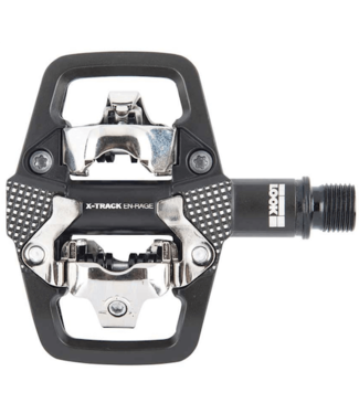 Look, X-Track En-Rage, MTB Clipless Pedals, Aluminum body, Cr-Mo axle, 9/16'', Black