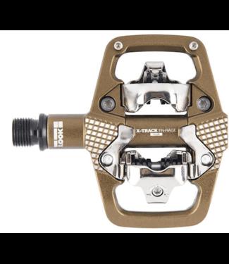 Look, X-Track En-Rage +, Pedals, Body: Aluminum, Bronze