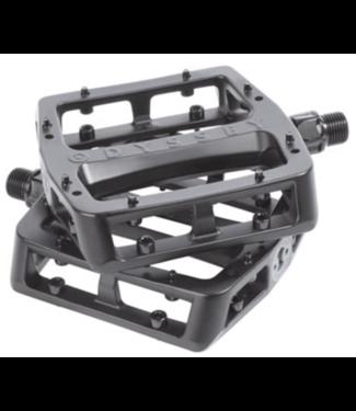 "Odyssey, Grandstand Pedals - Platform, Aluminum, 9/16"", Black"